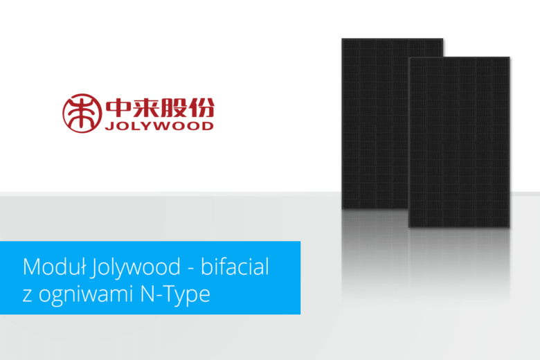 Moduł Jolywood - bifacial z półogniwami N-type
