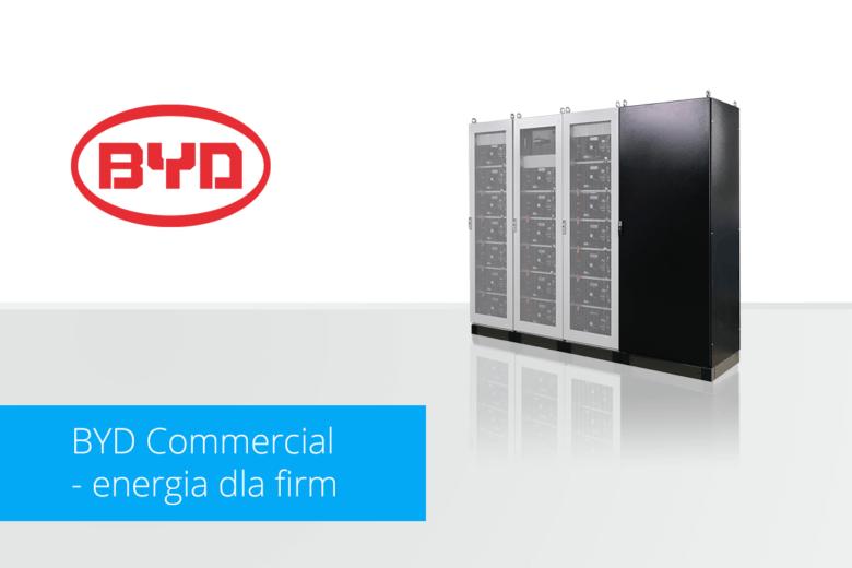 BYD Commercial - magazynowanie energii dla firm